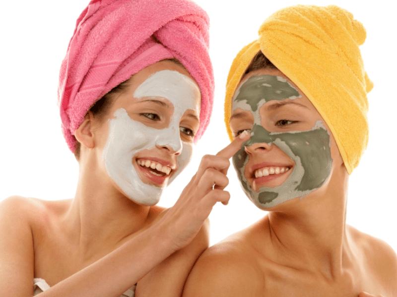 натуральная косметика очень полезна для кожи лица