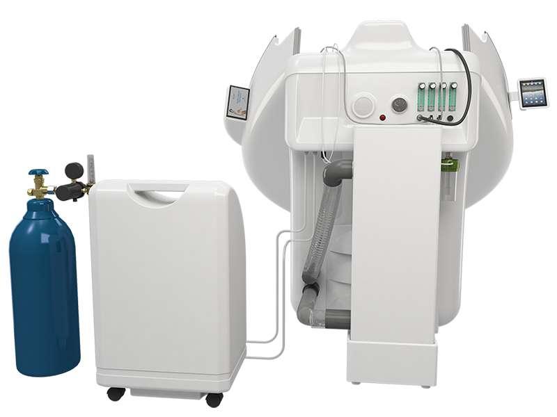Аппарат для приготовления кислородно-озоновых смесей